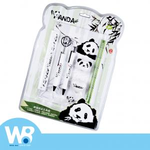 Panda stationery set